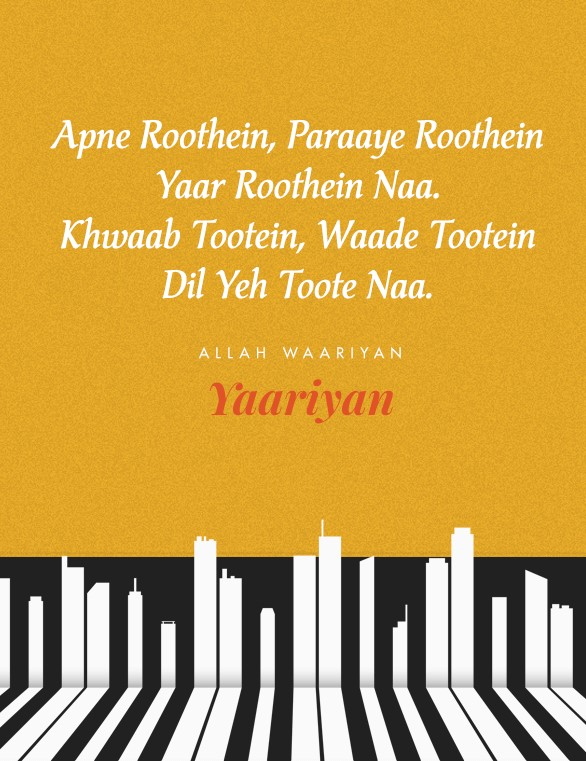 Yaari Songs That Will Make You Call Your Yaars Right Away
